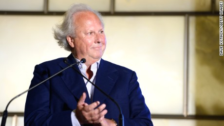 NEW YORK, NY - SEPTEMBER 05:  Graydon Carter speaks at The Daily Front Row Second Annual Fashion Media Awards at Park Hyatt New York on September 5, 2014 in New York City.  (Photo by Dave Kotinsky/Getty Images for the Daily Front Row)