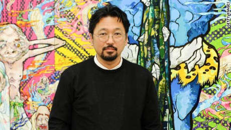 LOS ANGELES, CA - APRIL 11: Takashi Murakami attends the Takashi Murakami Private Preview at Blum & Poe on April 11, 2013 in Los Angeles, California. (Photo by Stefanie Keenan/Getty Images for Blum & Poe)