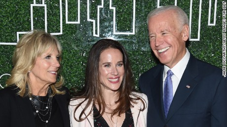 Joe Biden's daughter says ex-VP considering 2020 run