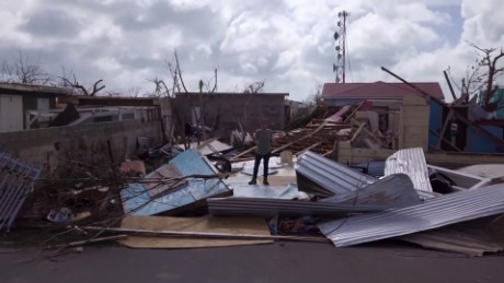 Resident: Barbuda looks like a war zone