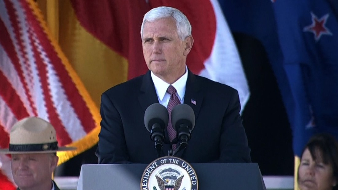 Pence dodges controversy and blame in Great Lakes swing ...