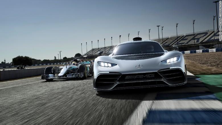 First Look At Mercedes Supercar Cnn Video