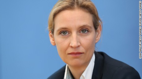 Weidel, an openly gay woman, was brought into the AfD as a moderating voice.