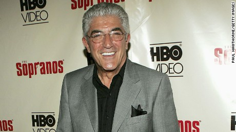"Actor Frank Vincent attends ""The Sopranos: The Complete Fifth Season"" DVD launch party at English is Italian on June 6, 2005 in New York City."