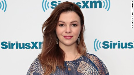 Actress Amber Tamblyn visits the SiriusXM Studios on May 16, 2017 in New York City.