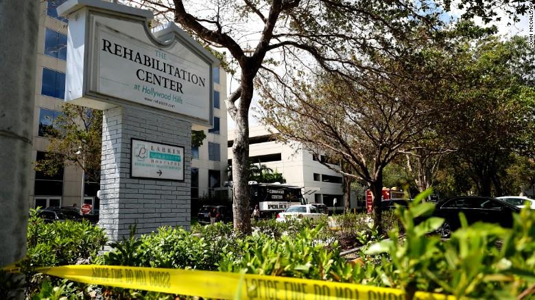 The Rehabilitation Center In Hollywood Florida On Wednesday