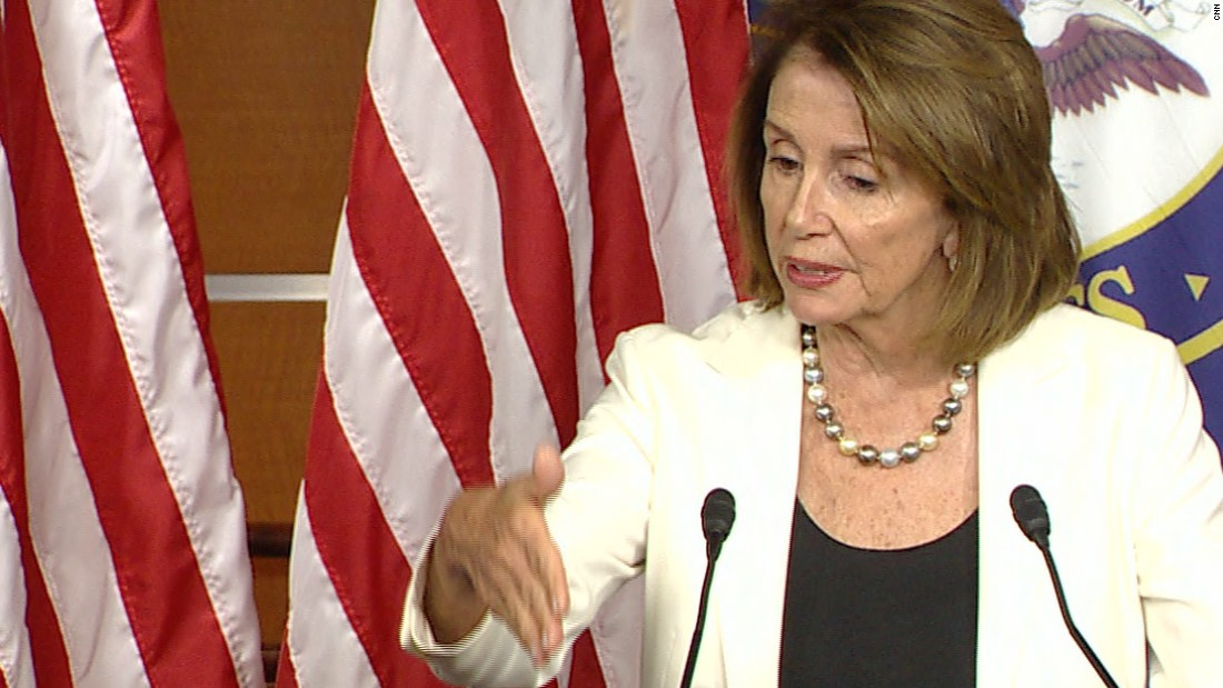 Pelosi event disrupted by protesters