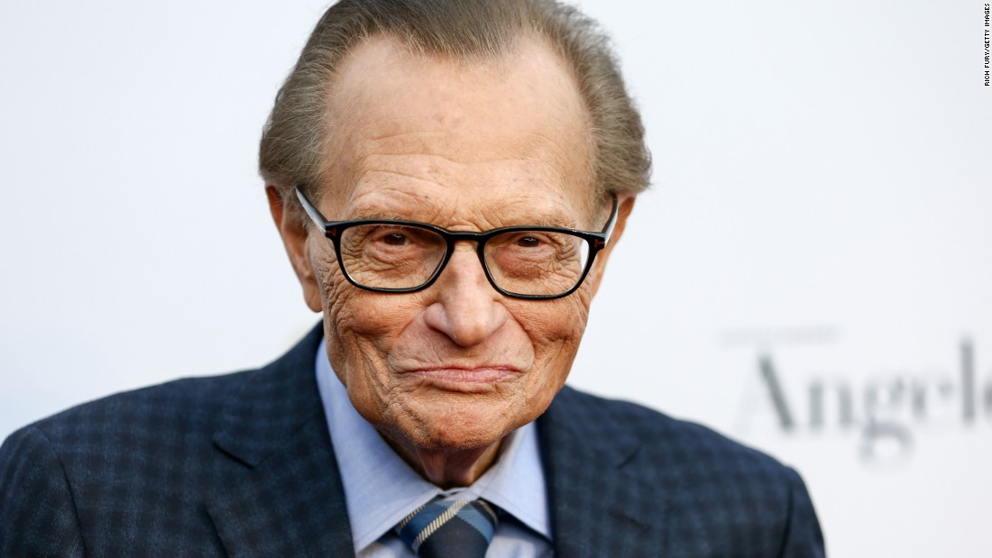 Legendary television and radio host Larry King  revealed in September that he underwent surgery for lung cancer. The former smoker said he was diagnosed with stage I cancer after receiving a chest x-ray in July.