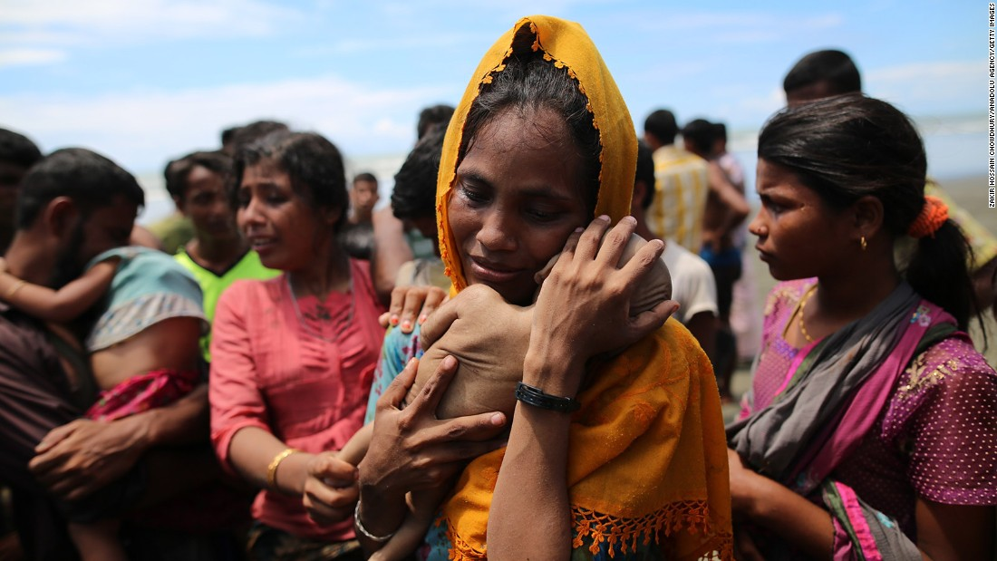 Myanmar Rohingya Muslims in crisis: Mother mourns infant son - CNN