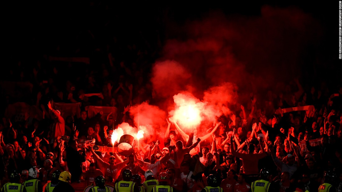 The view of many on social media was that the Cologne fans had helped create the best atmosphere at the Emirates Stadium in years, given the venue is arguably not always accustomed to a boisterous atmosphere.
