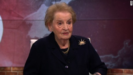madeleine albright new day