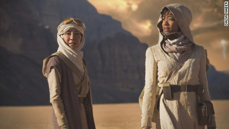 Michelle Yeoh and Sonequa Martin-Green in 'Star Trek Discovery'