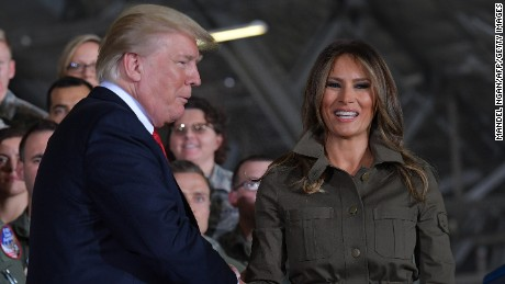 Melania Trump finds her footing after low-key summer