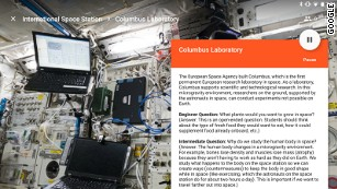 Students can learn about the challenges astronauts face.