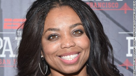 SAN FRANCISCO, CA - FEBRUARY 05:  Journalist Jemele Hill attends ESPN The Party on February 5, 2016 in San Francisco, California.  (Photo by Mike Windle/Getty Images for ESPN)