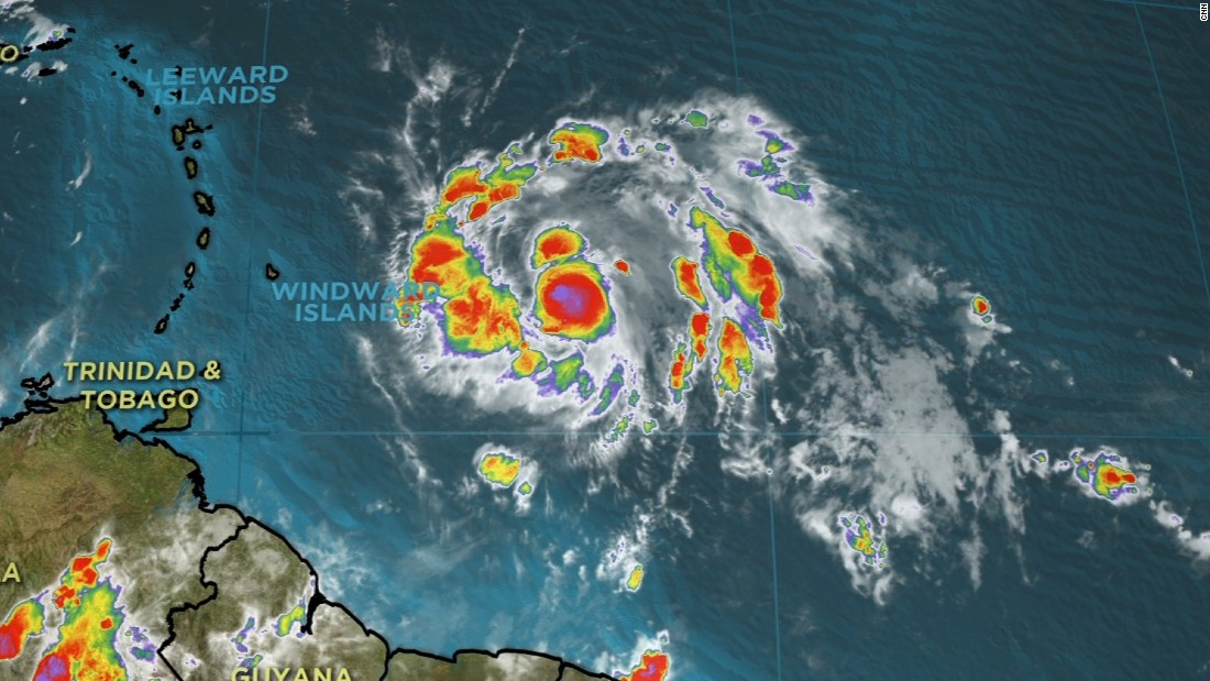 cnn.com - Holly Yan - 'Extremely dangerous' Hurricane Maria heading for Dominica, Puerto Rico