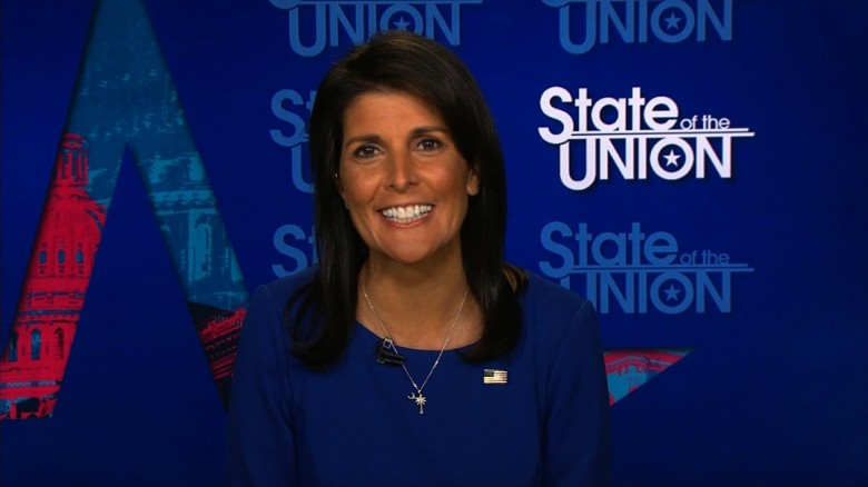 Haley: Tillerson is not going anywhere