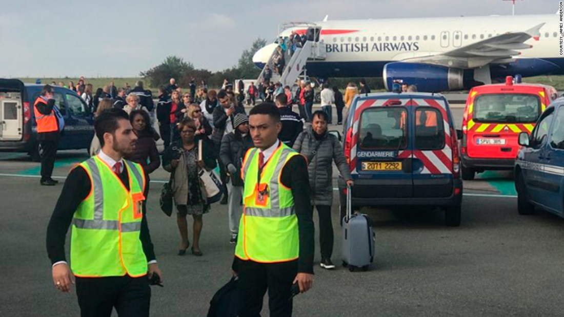 British Airways Flight Held At Paris Airport Over Security Concern