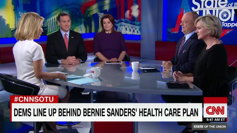 Dems line up behind Sanders on health care