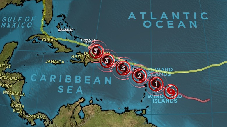 Caribbean braces for Hurricane Maria