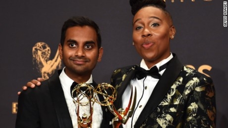 emmy awards lena waithe win rebecca sun intv nr_00002514