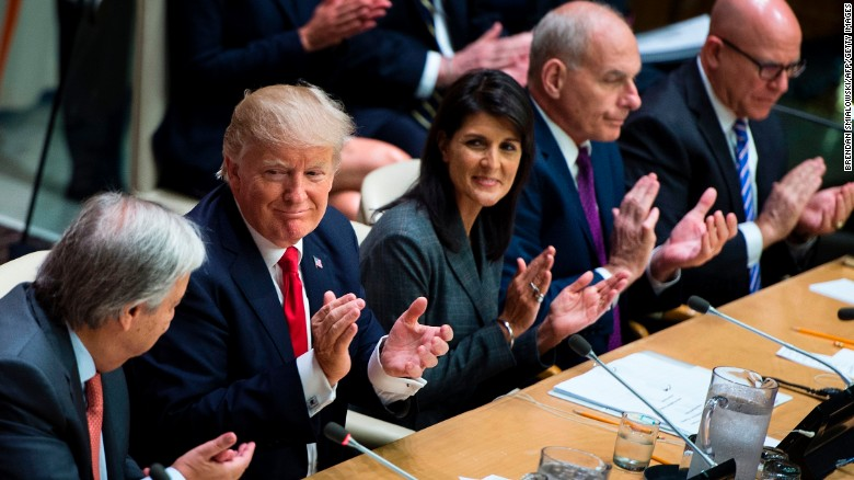 Trump has a long history with the UN -- and it involves marble