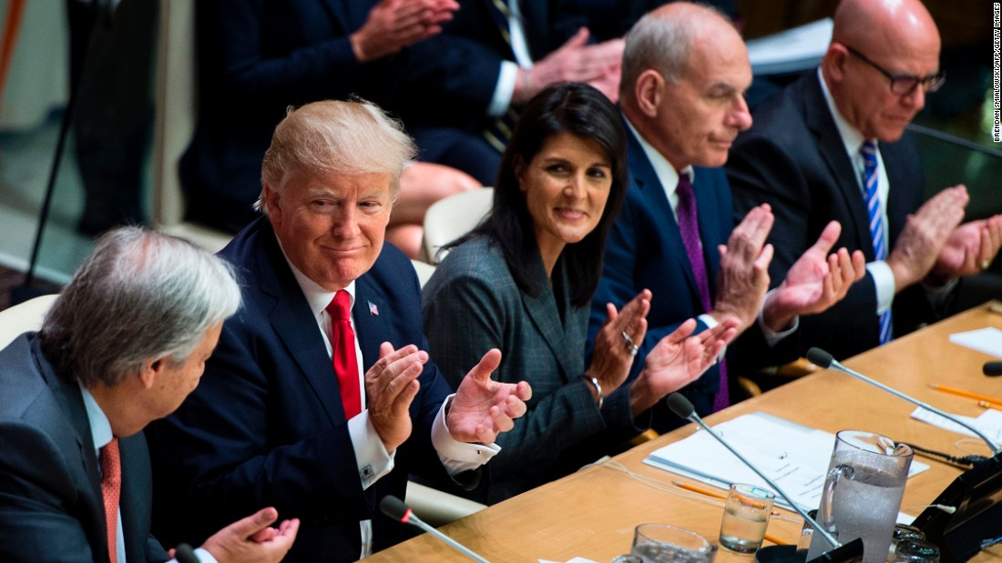 Trump joins the UN club he once derided