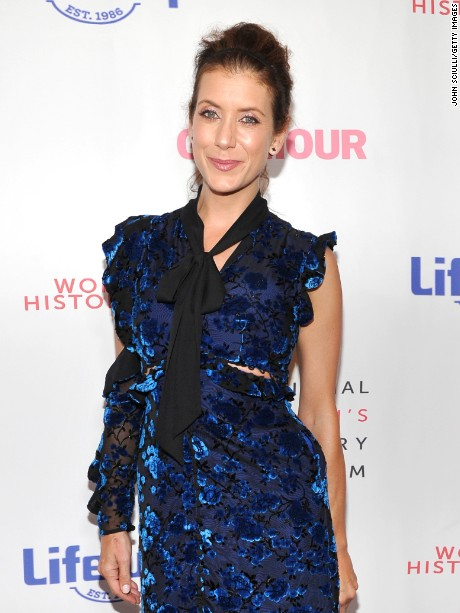 BEVERLY HILLS, CA - SEPTEMBER 16:  Actor Kate Walsh at the Women Making History Awards at The Beverly Hilton Hotel on September 16, 2017 in Beverly Hills, California.  (Photo by John Sciulli/Getty Images)