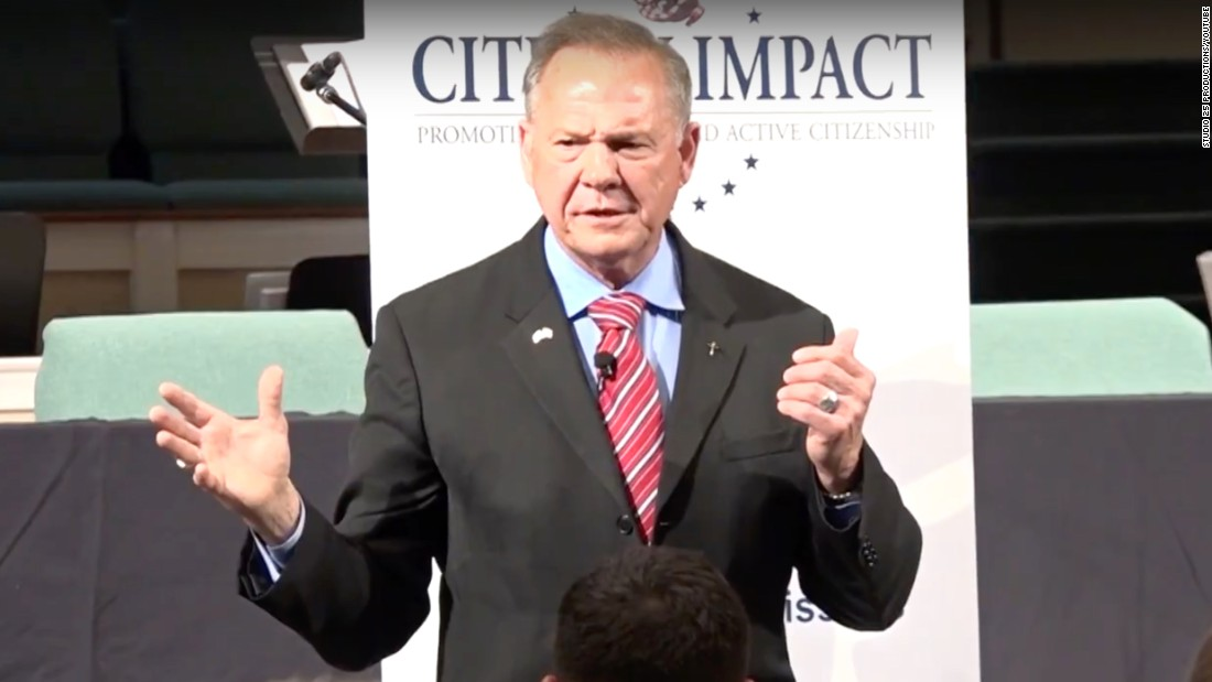 Roy Moore says 'we've asked for' shootings and killings by turning away from God