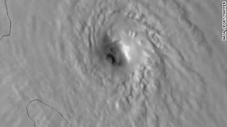 NASA watches Maria intensify from space