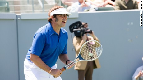 Steve Carell in a scene from 'Battle of the Sexes.'