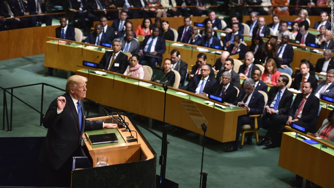 How world leaders reacted to Trump's UN speech
