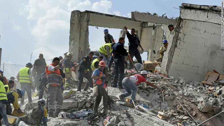 Report of Girl Trapped Under School Rubble False, Navy Apologizes