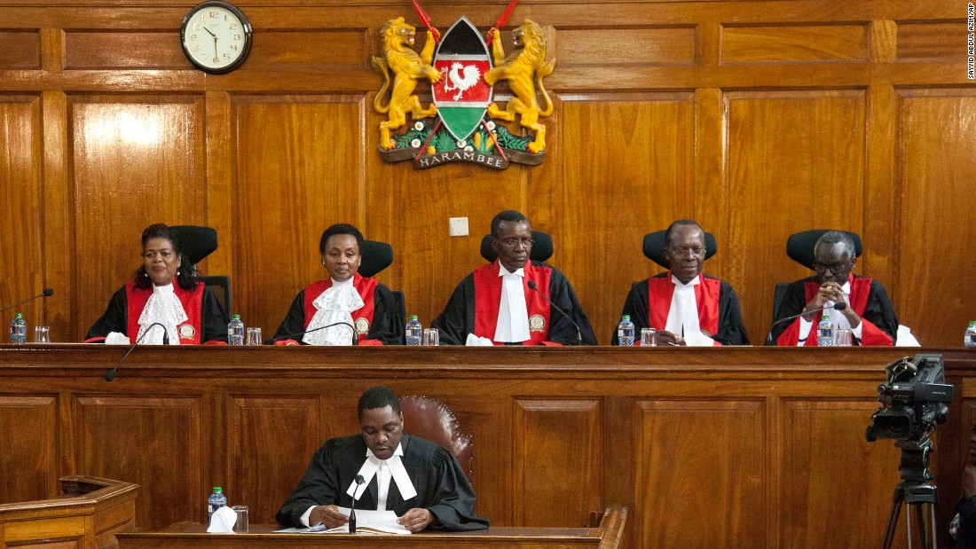 Kenya's Supreme Court involved in 'coup,' President says ...