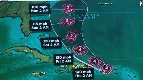 hurricane maria update wednesday 10a