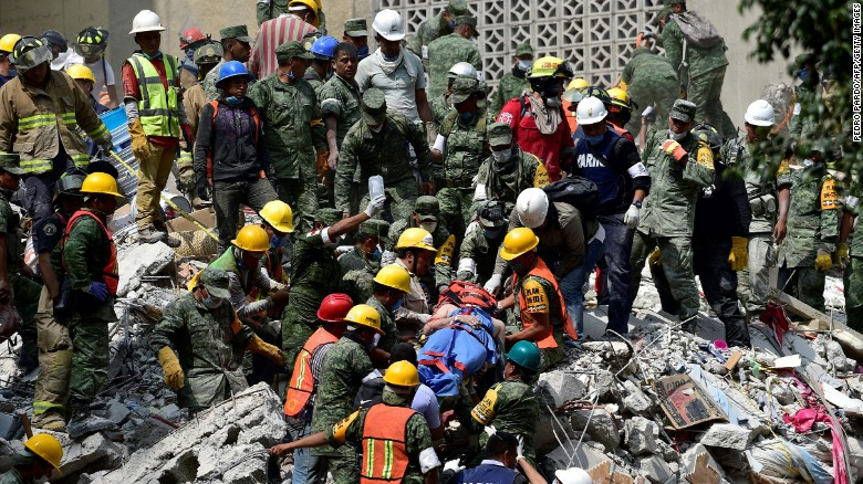 Mexico natural disaster : Crews keep searching for victims