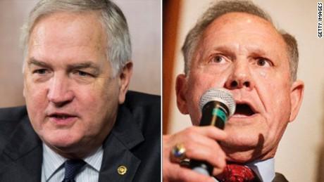 Ben Carson breaks with Trump, praises Roy Moore in Alabama Senate race