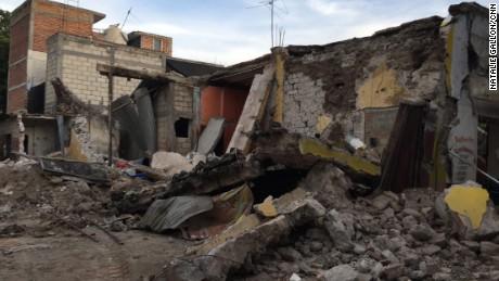 The destruction in Jojutla was extensive.
