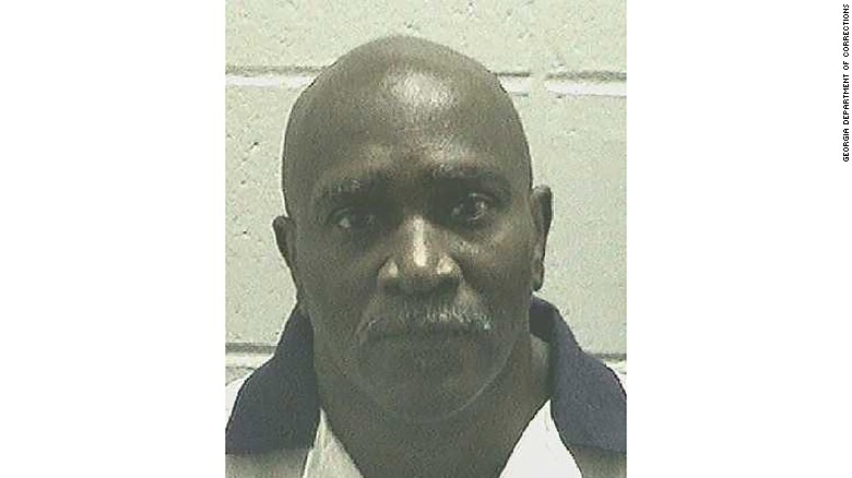 Keith Tharpe shown in an undated booking photo from the Georgia Department of Corrections.