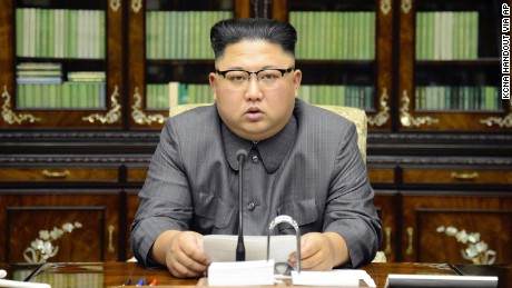 North Korean leader Kim Jong Un delivers a rare statement in response to US President Donald Trump's speech to the United Nations.