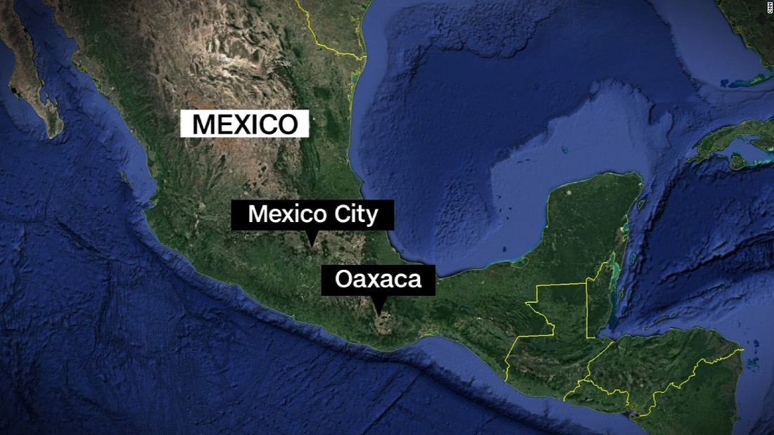 Another earthquake has struck mexico, this one with a 6.1 intensity.