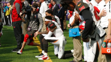 taking the knee: these are the nfl players protesting