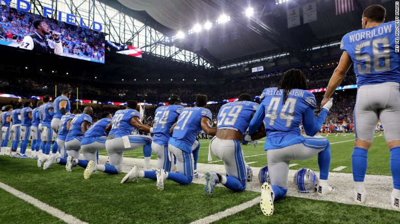 White House defends president's comments on NFL players