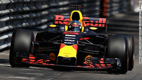Aston Martin's wings logo has adorned the nose of Red Bull F1 cars since 2016