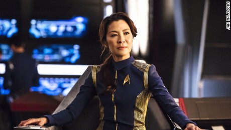 Michelle Yeoh as Captain Philippa Georgiou in 'Star Trek: Discover.'