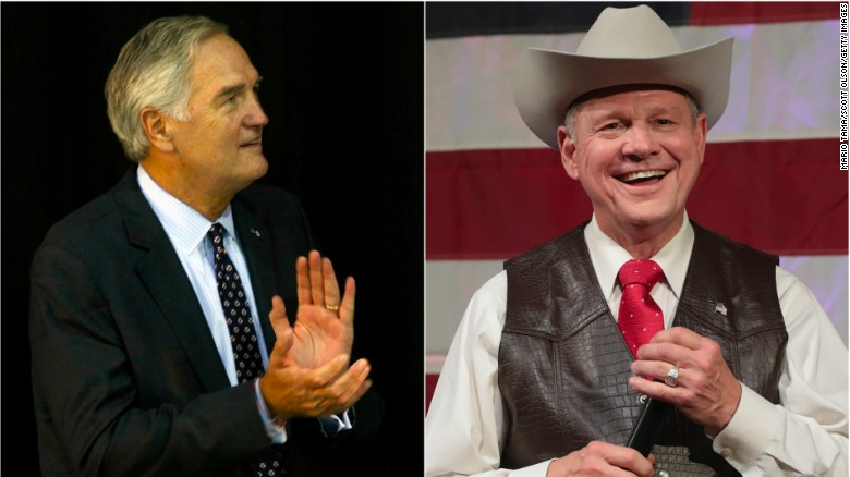 Pence congratulates Roy Moore: 'We are for you!'