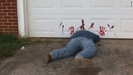 halloween decoration leads to 911 calls