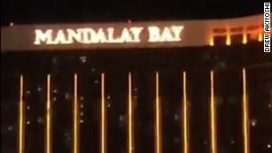 Rapid-fire shots heard at Las Vegas concert