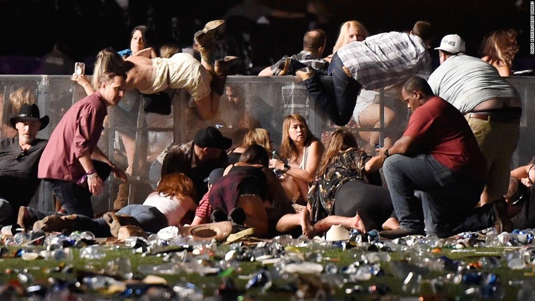 The Las Vegas attack is the deadliest mass shooting in modern US history