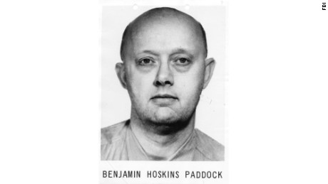 Benjamin Hoskins Paddock was a bank robber who went to prison when his son Stephen was 7.